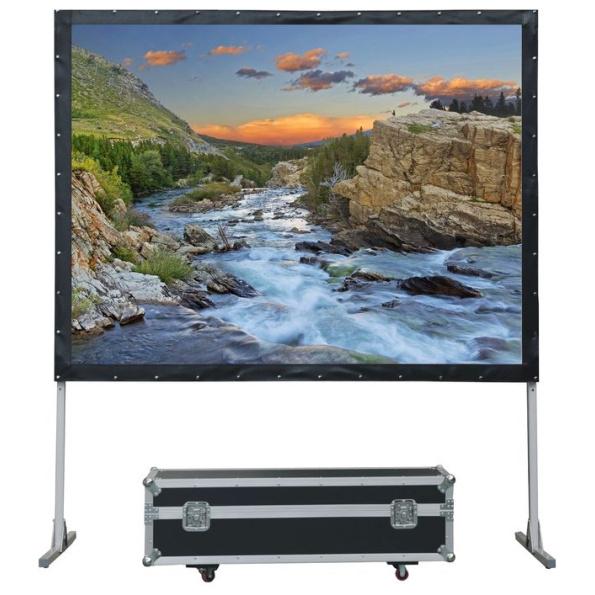 Уценка LMF-100101 Экран Lumien LMF-100101 Master Fold 168×219 см 100, раб. область 152х203 см Matte White черн. кайма по периметру 4:3